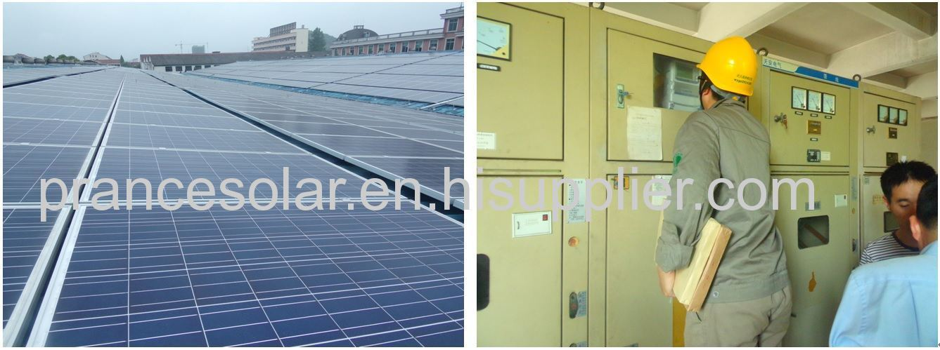 Zhejiang Wuyi ground 60MW power plant project first phase