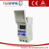 YX192 AC DC24V programmable LCD display digital timer switch