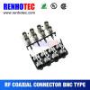 CCTV accessories Multi- Ports PCB Mount Switch Type BNC Female Connectors