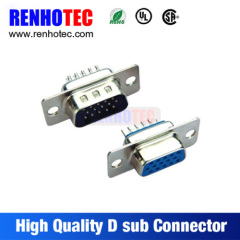 180 Degree 15Pin Female Male D SUB Connector