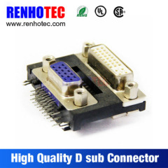 15Pin 30Pin Female Jack D SUB for PCB Mount