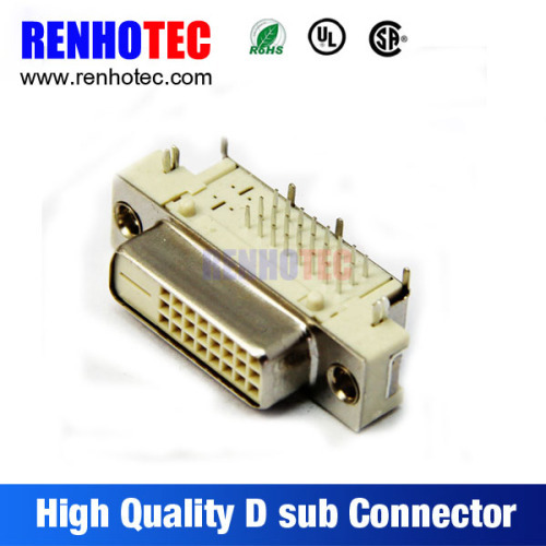 Right Angle 24Pin D SUB Connector