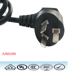 China factoy wholesale price 10A/250v Standrad 3C power plug cable
