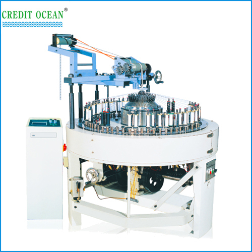 computerized circular lace braiding machine