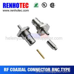 Bnc connector to 1.0/2.3 connector