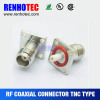 Flange tnc female connector with certification