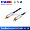 Manufactuer RCA Audio Video cable Gold Plated connector RCA Cable