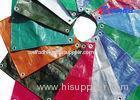 Colorful Anti UV High Gloss Laminated HDPE Tarpaulins for Roof / Awning Covering