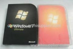 Discount Microsoft Windows 7 Ultimate Retail Full version Made in Singapore