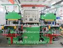 Single Mold Silicone Rubber Flat Vulcanizing Machine / Compression Moulding Machine