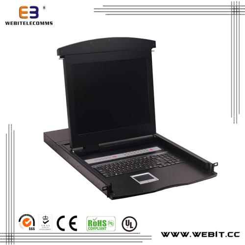 16 port cat5 KVM console