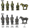 Terra cotta warriors statues in gifts