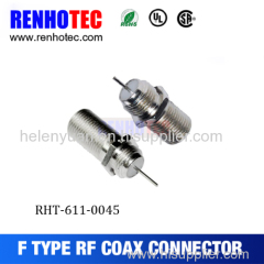 Copper Alloy F connector