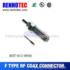 F Type Connector Plug Male Straight Crimp for RG174 RG316 RG188 Cable RF Connector
