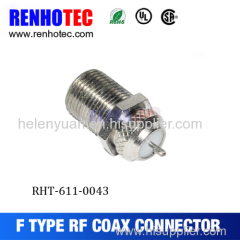 Super quality durable in use waterproof f connector