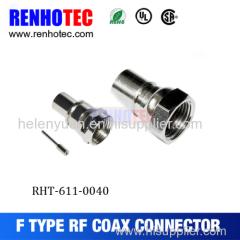 Crimp RG6 F Connector