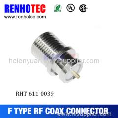 Factory hot RF coaxial F type Jack waterproof connector
