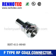 F MALE TO TV FEMALE CONNECTOR
