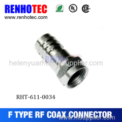 F MALE COAXIAL CONNECTOR FOR RG174 RG316