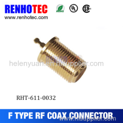 New style hot sale f connector screwed