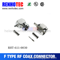 Dosin Hot Waterproof high quality RG6 compression f connector