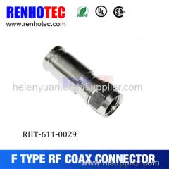 New Brand RG6 F Male Plug Compression Connectors