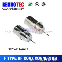 Best Price 75ohm crimp type F series male RF connector