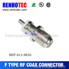 CATV Male F Type Connector Rg11 Rg6 Compression F Connector