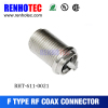 Manufacture F connector Female Bulkhead Jack connector