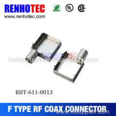 [Factory price]RF connector/ f pcb mount right angle connector
