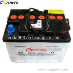 12v Battery For Car 12V45Ah Car Battery