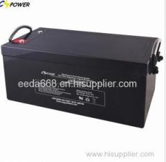 12V250Ah Solar Gel Battery