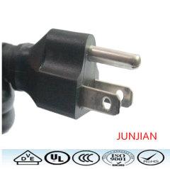 American UL 3pin power cord