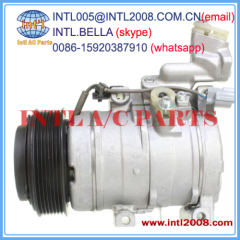 Compressor denso 10S17C for Honda Accord/civic /crv 2004-08 2.2 cdti diesel 38810-RBD-E11