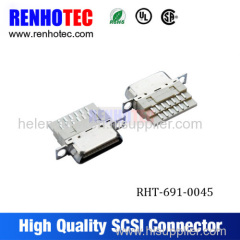 Chinese leading Connector manufacturers scsi male connector