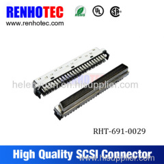 Manufactured in China 50 pin scsi connector