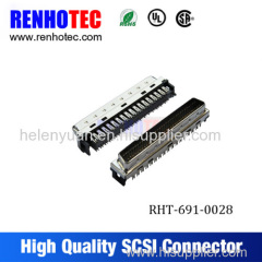 New hot scsi 50 pin PCB connector