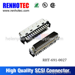 MDR68pin CN solder type connector SCSI 68 pin connector