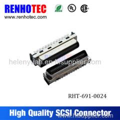 Dosin Receptacle scsi pcb connector