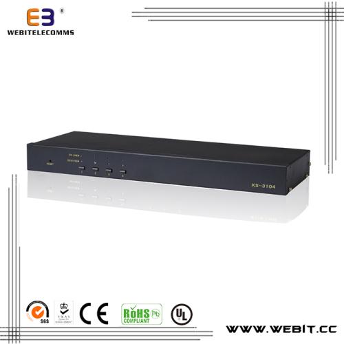4 port Cat5 KVM switch