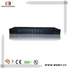 8 ports Cat5 KVM console