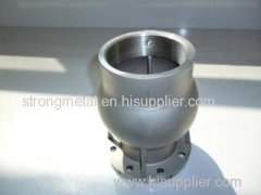 Investment casting parts CNC machining parts