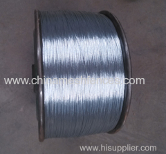 2 Strands Galvanized Twisted Wire