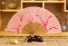 Sales Promotion Painted Wooden Hand Fan Wholesale