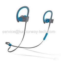 New Beats by Dre Beats Powerbeats2 Wireless In-Ear Active Collection Headphones Flash Blue
