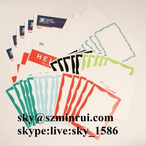 Factory Price Ultra Destructible Eggshell Paper Printable Graffiti Vinyl Label Materials