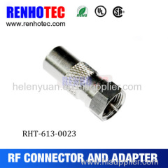 F female to PAL male adapter