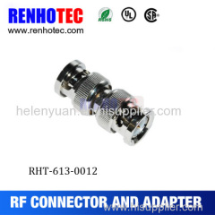 Double BNC male adapter bnc male to bnc male connector