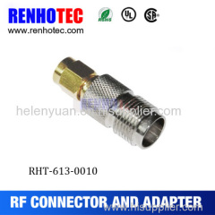 Sma Plug connector to TNC female with thread