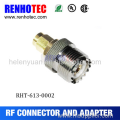 2015 Factory Price SMA Male to UHF Femal Adapter